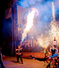 FIRESHOW AND PYROTECHNICS