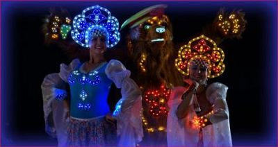 «LIGHT SHOW»Theatrical interactive shows   ...